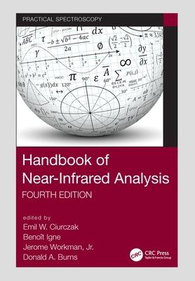 Handbook of Near-Infrared Analysis-cover