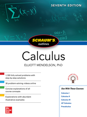 Schaum's Outline of Calculus, Seventh Edition-cover