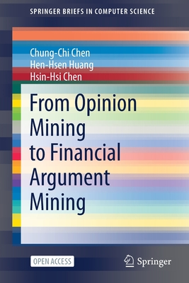 From Opinion Mining to Financial Argument Mining-cover