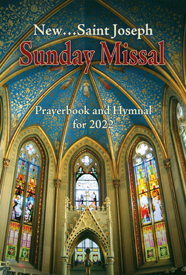 St. Joseph Sunday Missal Prayerbook and Hymnal for 2022 (American)-cover