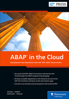 ABAP in the Cloud: Development and Operations with SAP Btp, ABAP Environment-cover