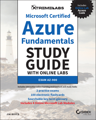 Microsoft Certified Azure Fundamentals Study Guide with Online Labs-cover