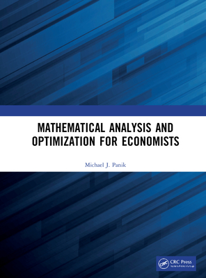 Mathematical Analysis and Optimization for Economists-cover