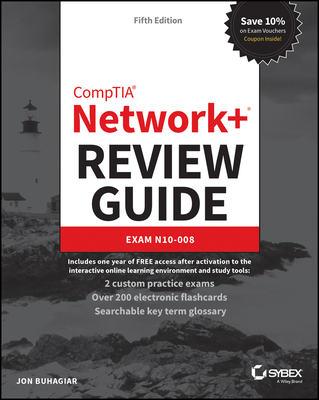 Comptia Network+ Review Guide: Exam N10-008-cover