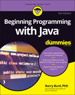 Beginning Programming with Java for Dummies-cover