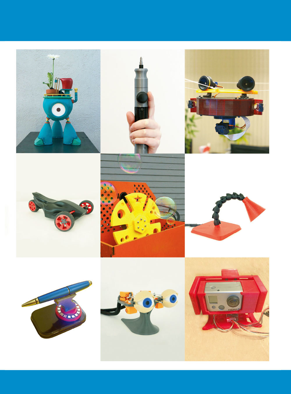 MAKE:3D列印專題|玩具、機器人、工具自己印 (Make: 3D Printing Projects: Toys, Bots, Tools, and Vehicles To Print Yourself)-preview-1