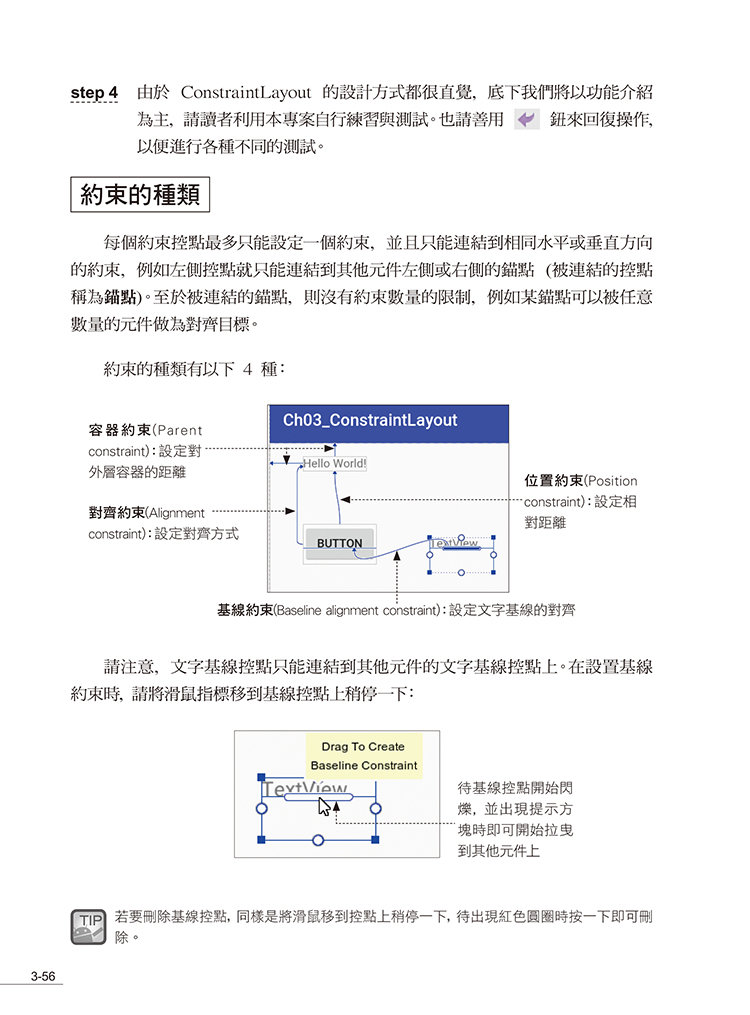 Android App 程式設計教本之無痛起步 -- 使用 Android Studio 2.X 開發環境-preview-8
