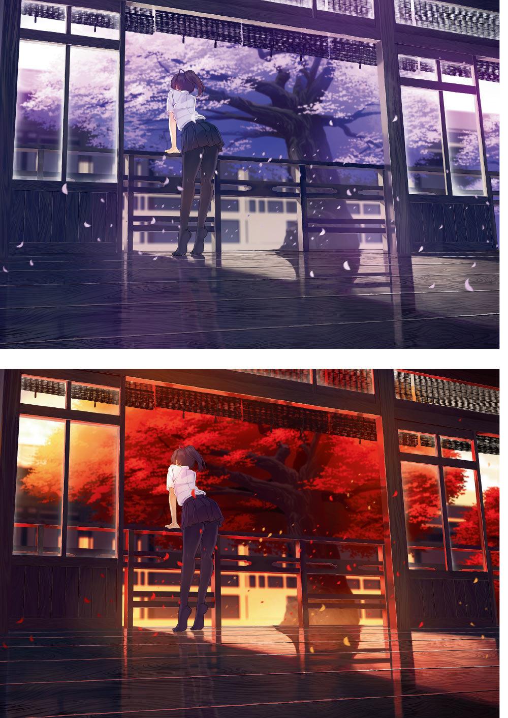 超質感場景繪製美學   結合人與物的絕美背景電繪技法-preview-3