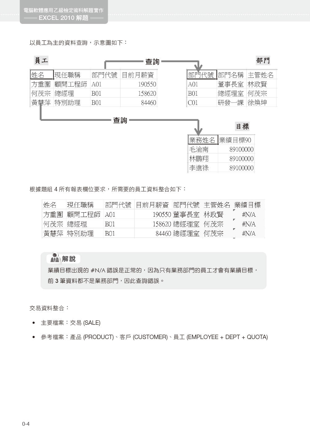 電腦軟體應用乙級檢定術科解題實作 | Excel 2010 解題-preview-3