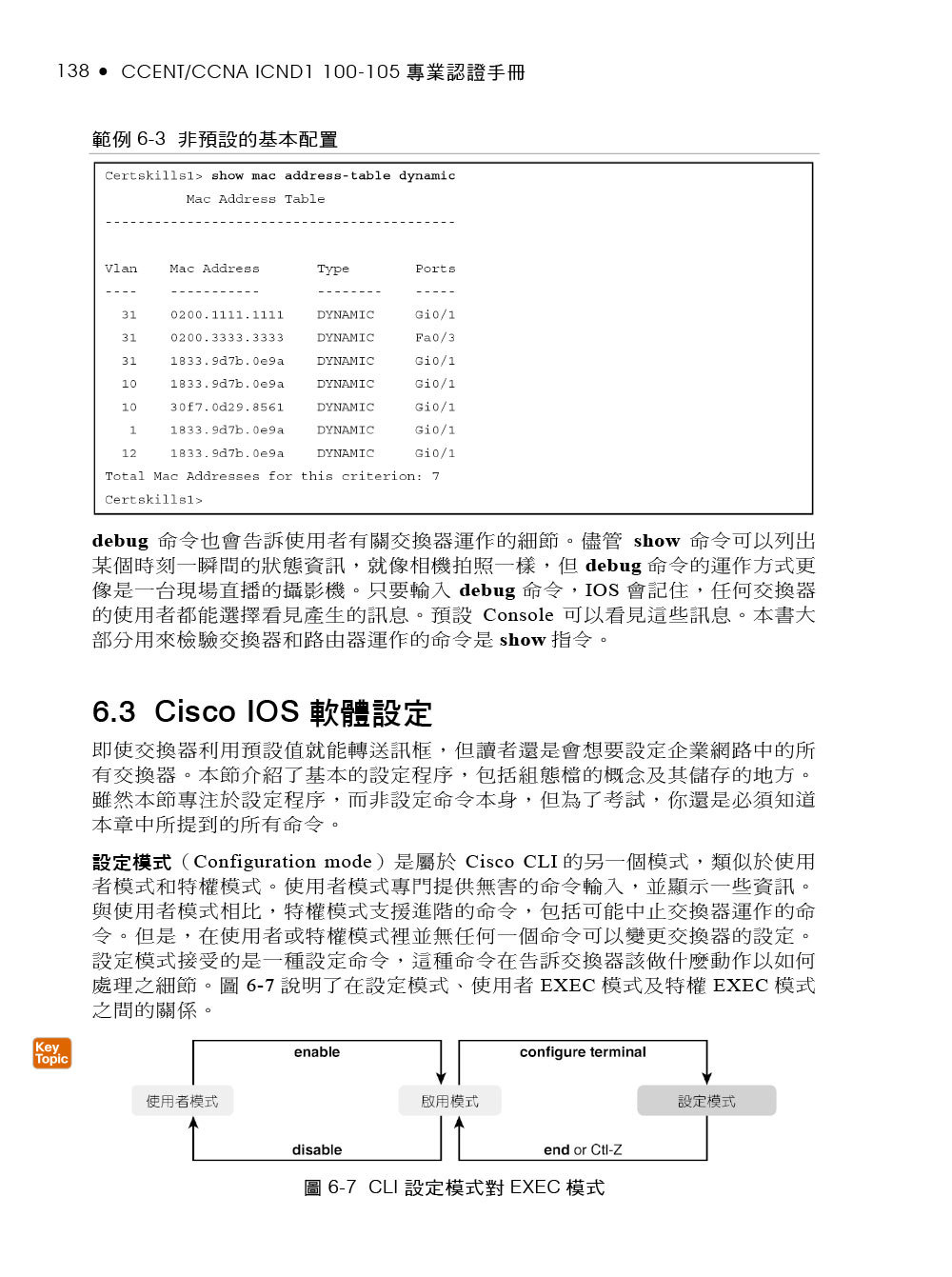 Cisco CCENT/CCNA ICND1 100-105 專業認證手冊 (Cisco CCENT/CCNA ICND1 100-105 Official Cert Guide)-preview-12
