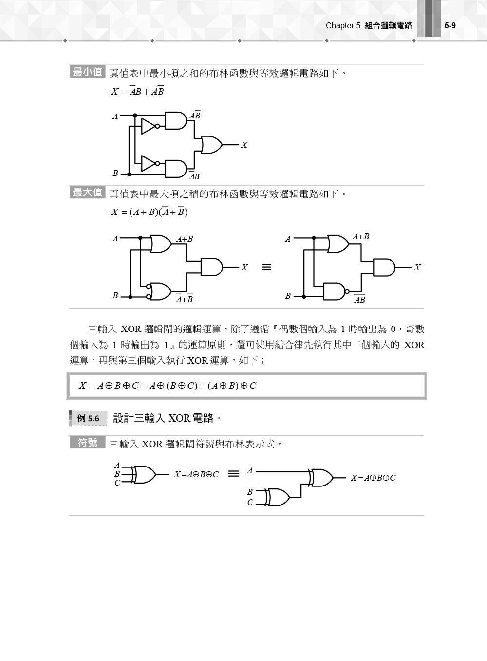 數位邏輯設計 -- 使用VHDL, 3/e-preview-6