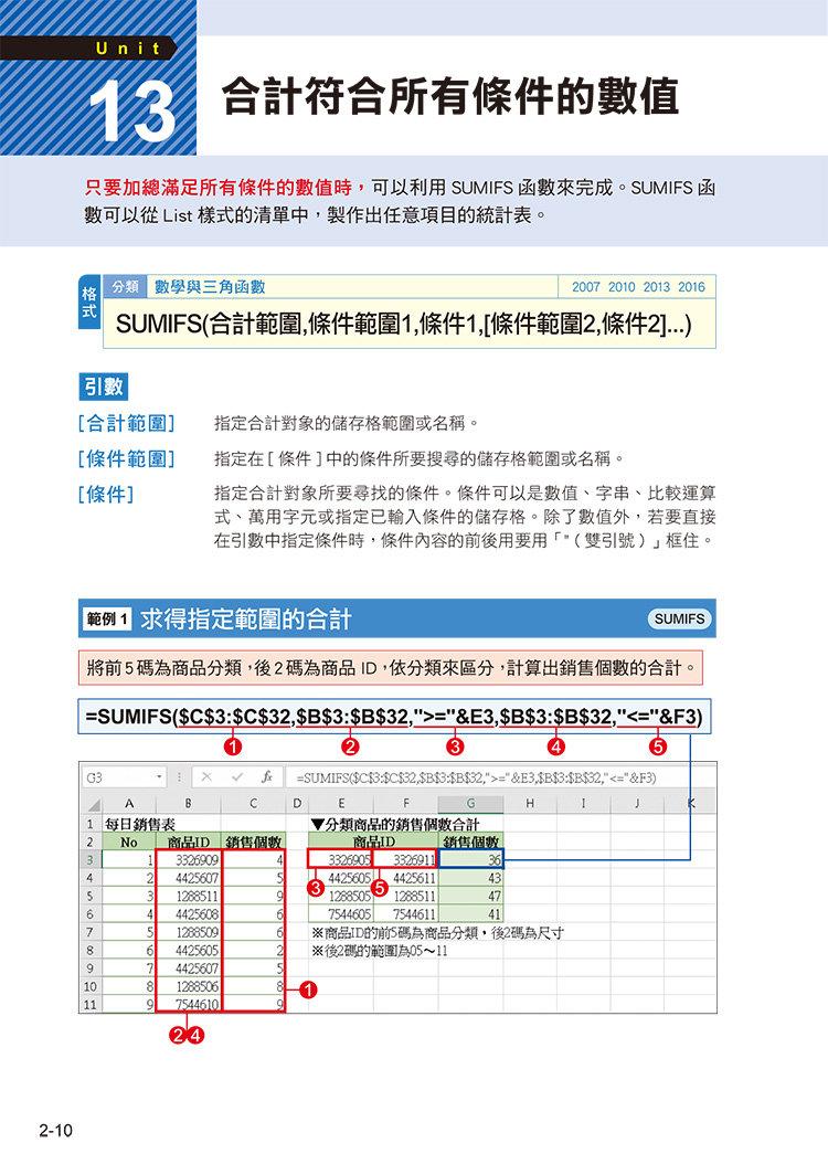 職場必備超省時 Excel 函數便利技效率UP-preview-1