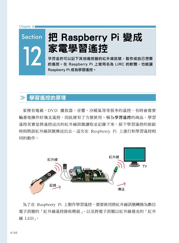 Raspberry Pi 好好玩不卡關!開直播‧玩 NAS ‧ 手機監測器 ‧ 遙控推土機 ‧ 自動PO文機 ‧ 防盜系統輕鬆搞定-preview-6