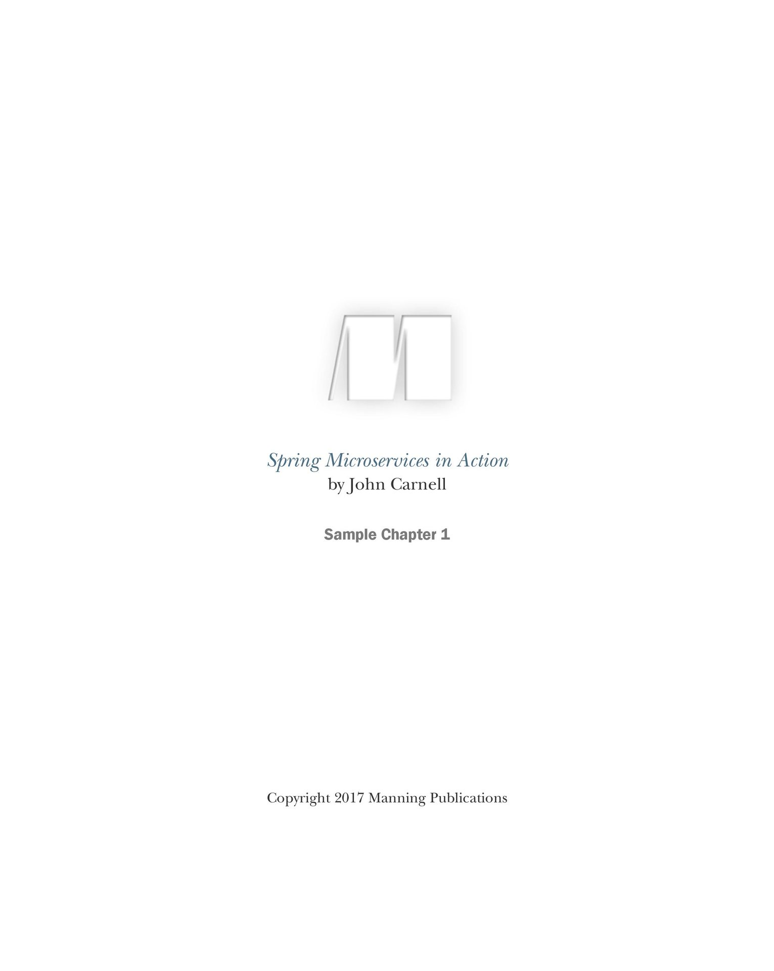 Spring Microservices in Action (Paperback)-preview-1