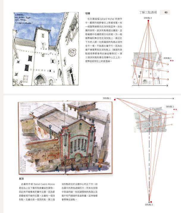 透視繪畫聖經: 插畫家、建築師必學的透視力完全解析-preview-6