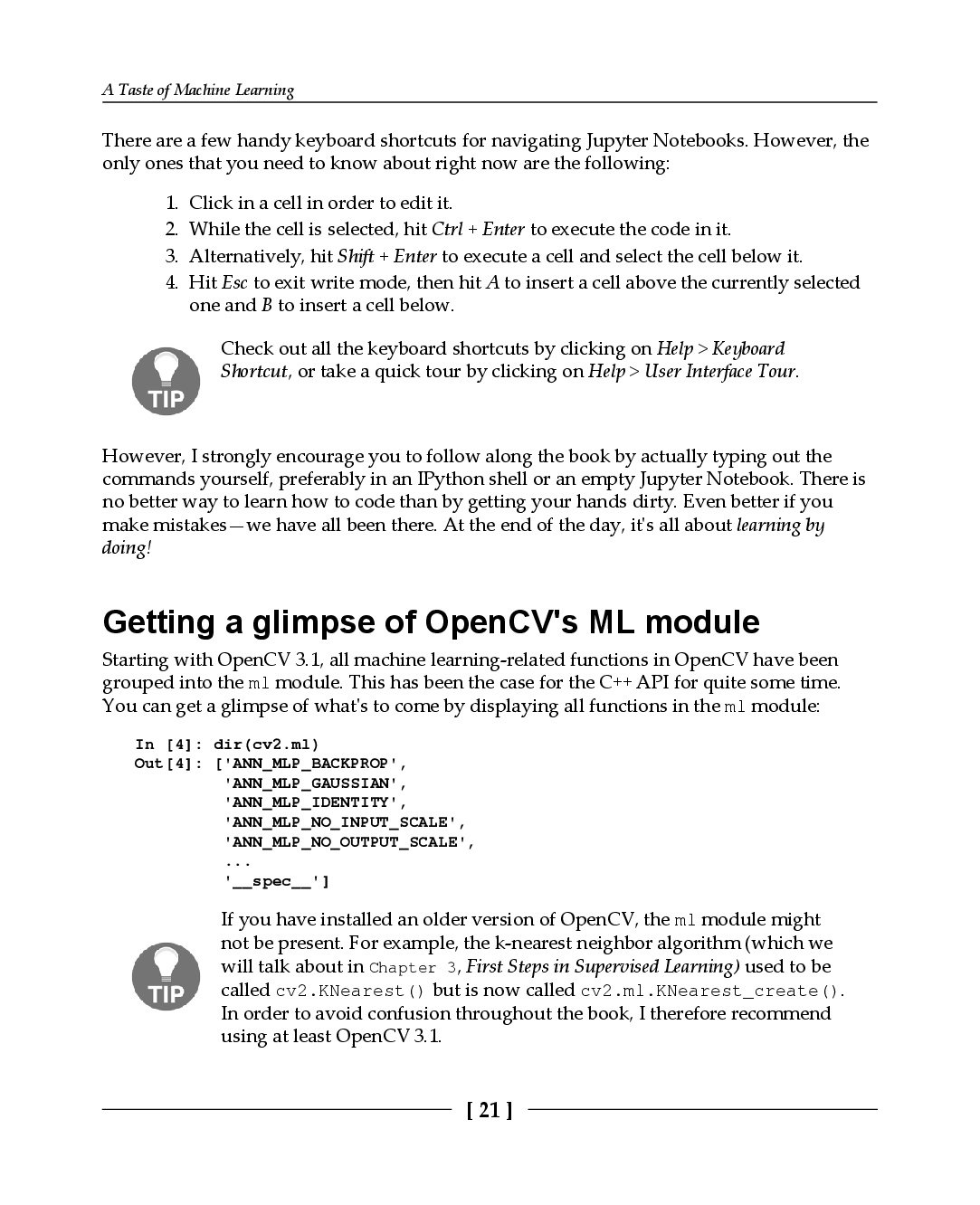 Machine Learning for OpenCV-preview-21