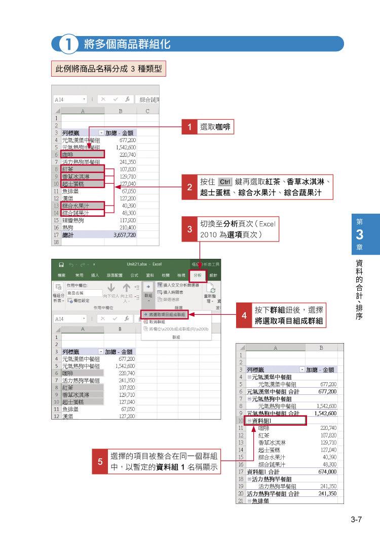 職場必備超省時 Excel 樞紐分析表便利技 效率 UP-preview-2