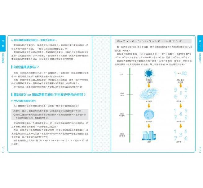 演算法圖鑑:26種演算法 + 7種資料結構,人工智慧、數據分析、邏輯思考的原理和應用 step by step 全圖解-preview-3