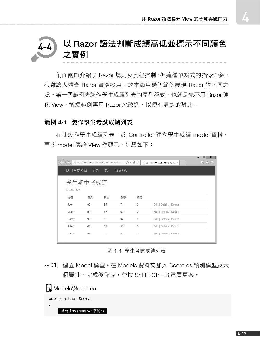 網頁程式設計 ASP.NET MVC 5.x 範例完美演繹 (附範例程式)-preview-2