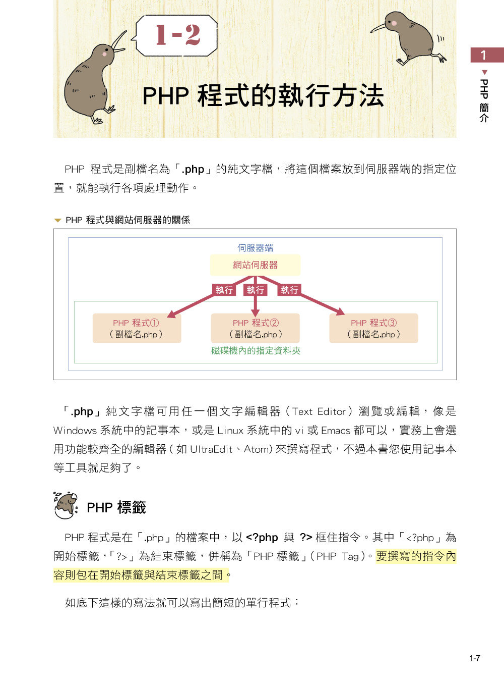 PHP 網頁程式設計「超」入門-preview-1