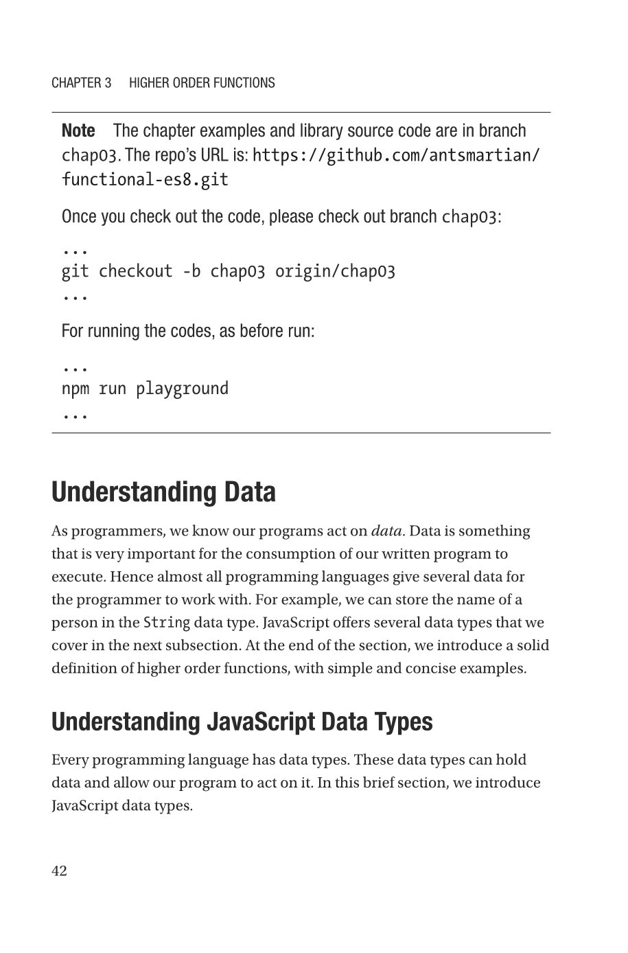 Beginning Functional JavaScript: Uncover the Concepts of Functional Programming with EcmaScript 8-preview-6