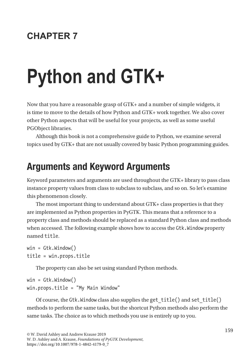 Foundations of PyGTK Development: GUI Creation with Python-preview-3