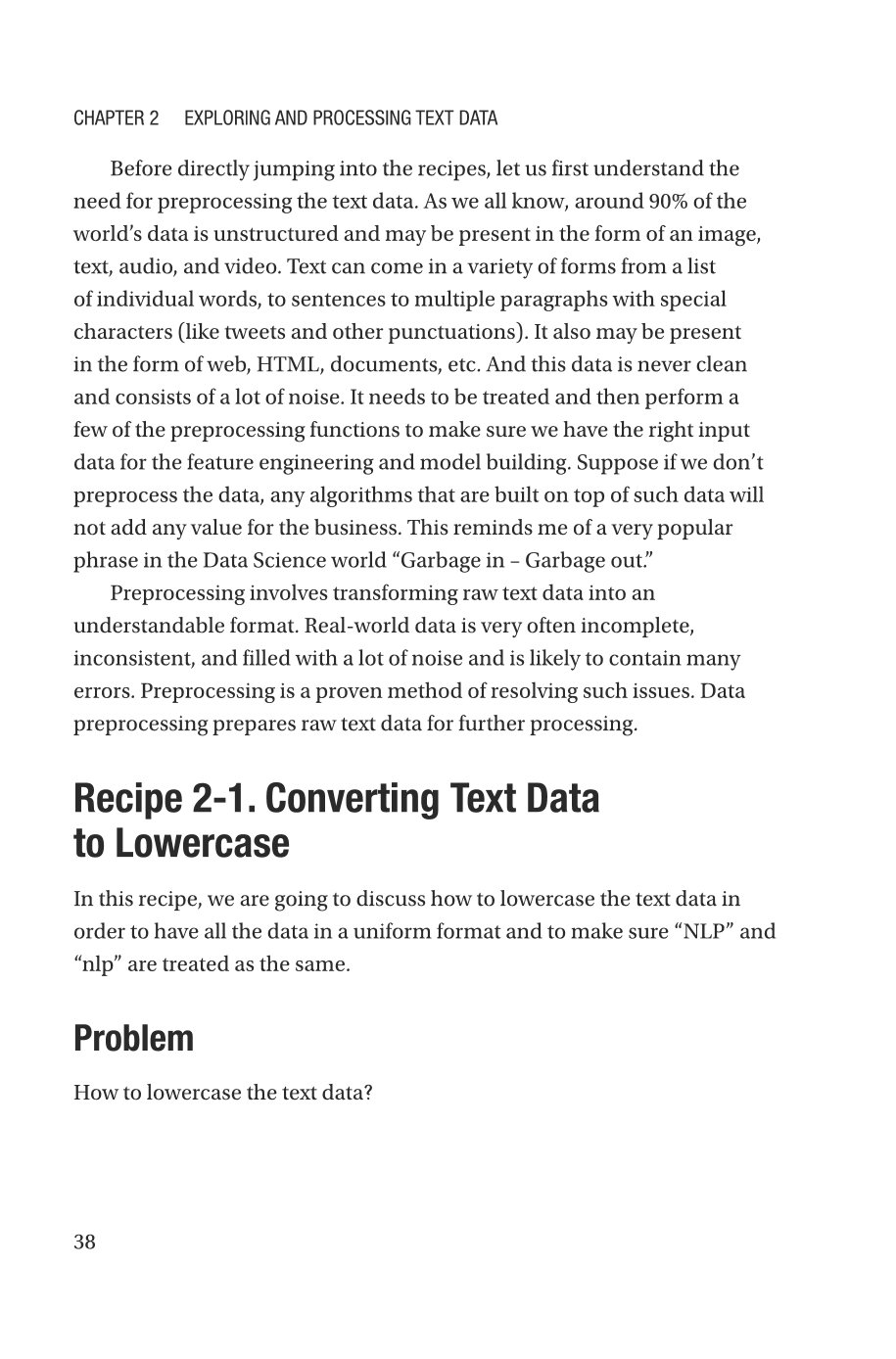Natural Language Processing Recipes: Unlocking Text Data with Machine Learning and Deep Learning using Python-preview-6