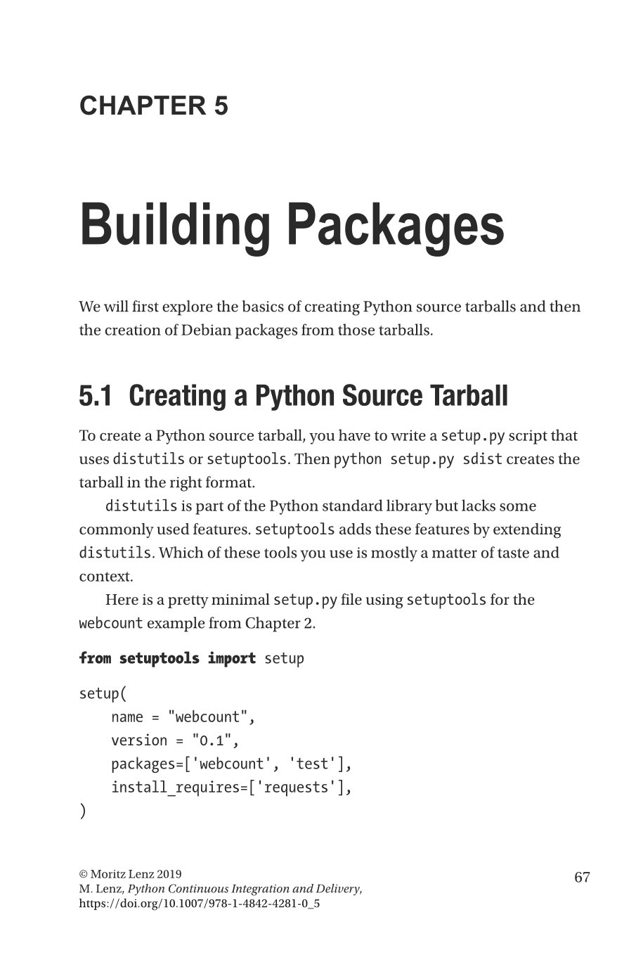 Python Continuous Integration and Delivery: A Concise Guide with Examples-preview-2