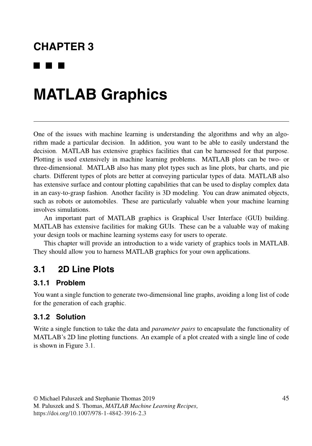 MATLAB Machine Learning Recipes: A Problem-Solution Approach, 2/e (Paperback)-preview-1