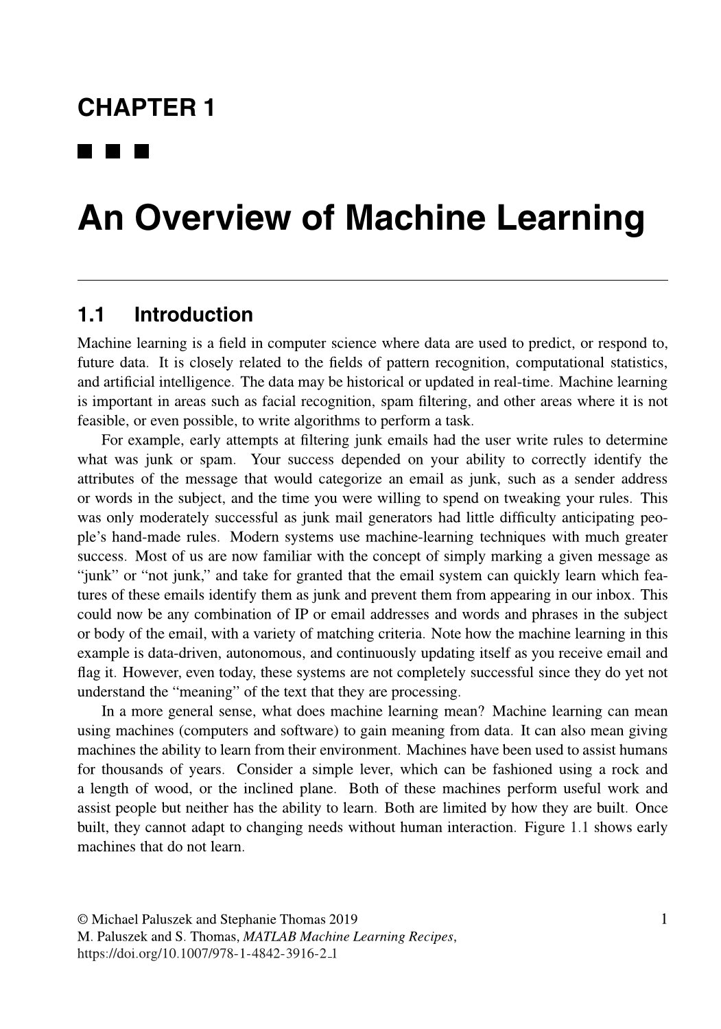 MATLAB Machine Learning Recipes: A Problem-Solution Approach, 2/e (Paperback)-preview-5