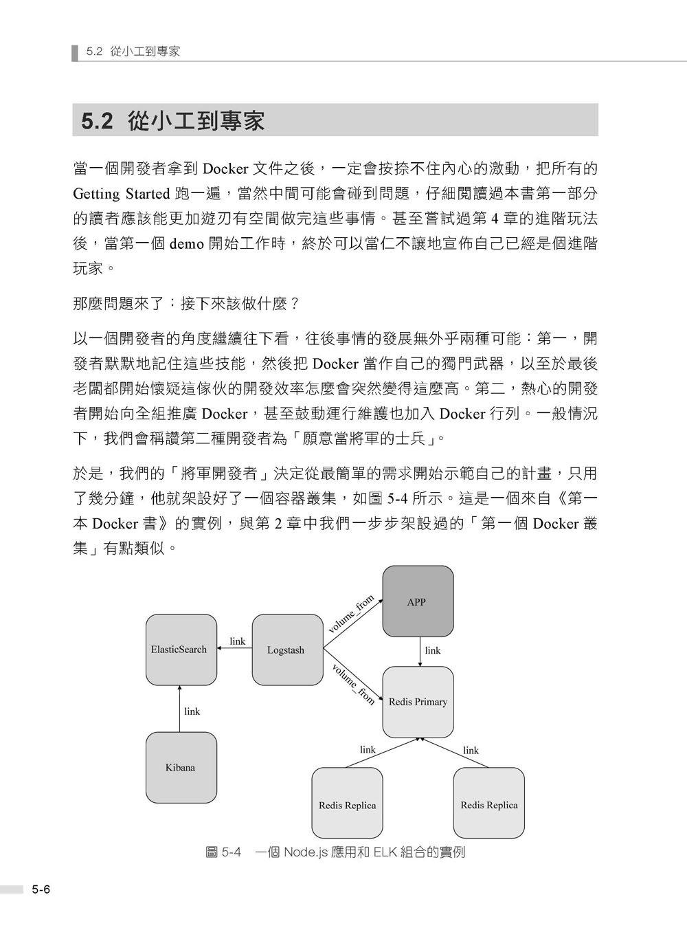 docker 雲端超容器絕佳利器 -- 終極高效輕量級虛擬化工具 (舊名: 比 VM 粒度更細的 Container 時代來臨 : 使用 Docker 不再需要架設系統, 2/e)-preview-12