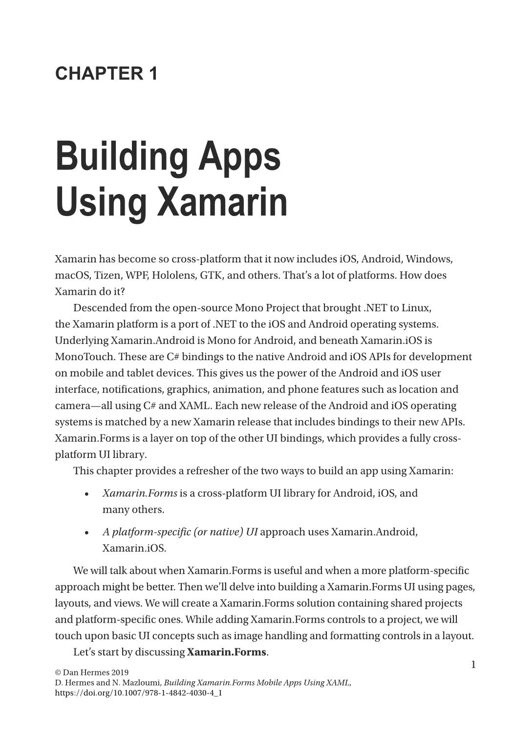 Building Xamarin.Forms Mobile Apps Using XAML: Mobile Cross-Platform XAML and Xamarin.Forms Fundamentals-preview-1