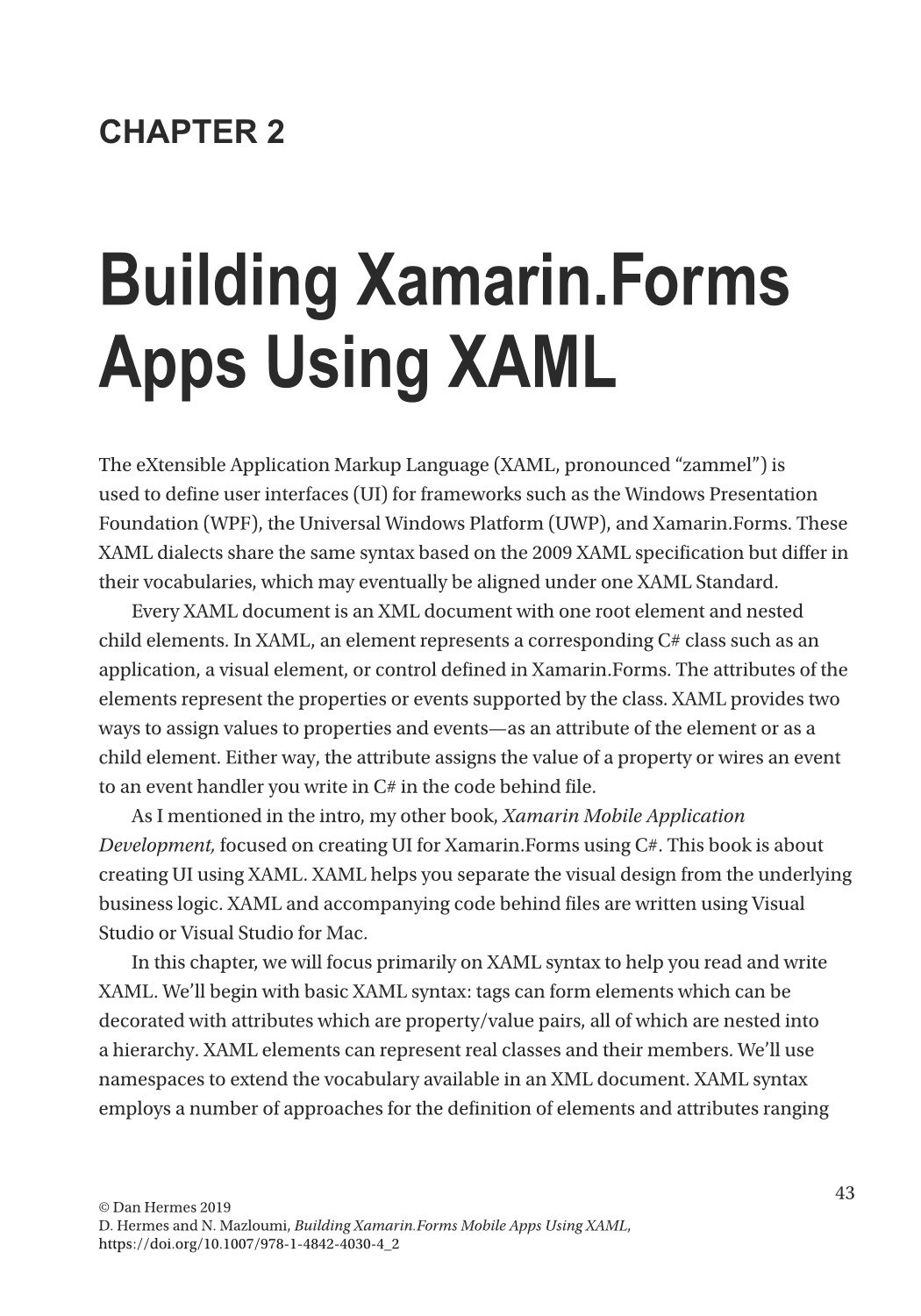 Building Xamarin.Forms Mobile Apps Using XAML: Mobile Cross-Platform XAML and Xamarin.Forms Fundamentals-preview-3