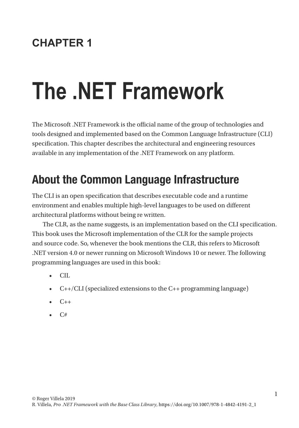 Pro .NET Framework with the Base Class Library: Understanding the Virtual Execution System and the Common Type System-preview-1