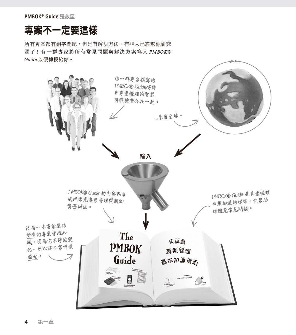 深入淺出 PMP, 4/e (Head First PMP: A Learner's Companion to Passing the Project Management Professional Exam, 4/e)-preview-5