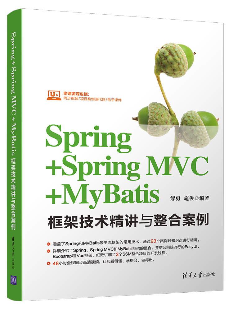 Spring + Spring MVC + MyBatis 框架技術精講與整合案例-preview-1