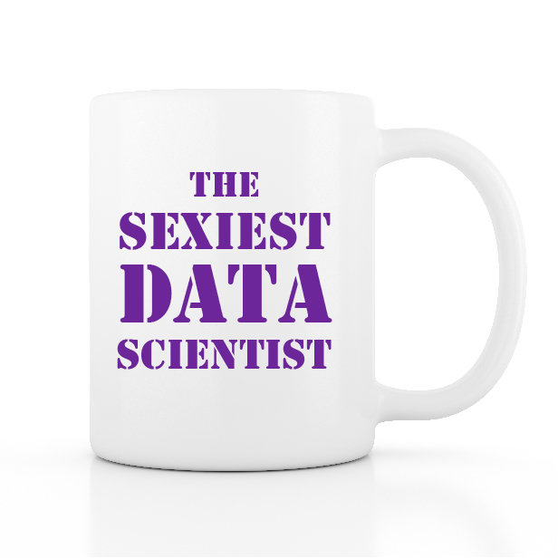 The Sexiest Data Scientist 馬克杯 - 紫色款-preview-1