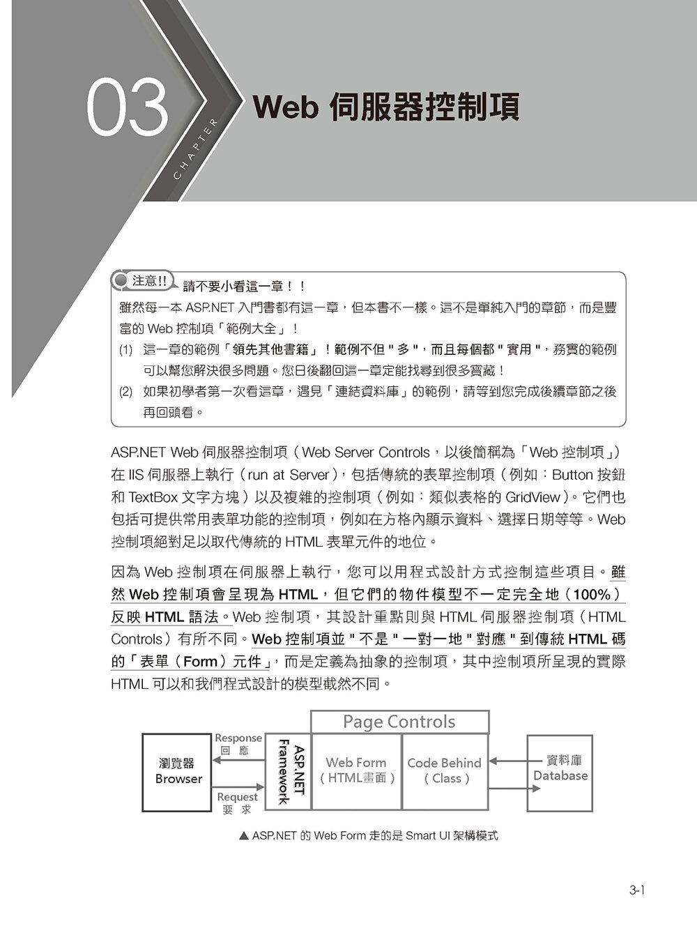 ASP.NET 專題實務 (I):C# 入門實戰-preview-1