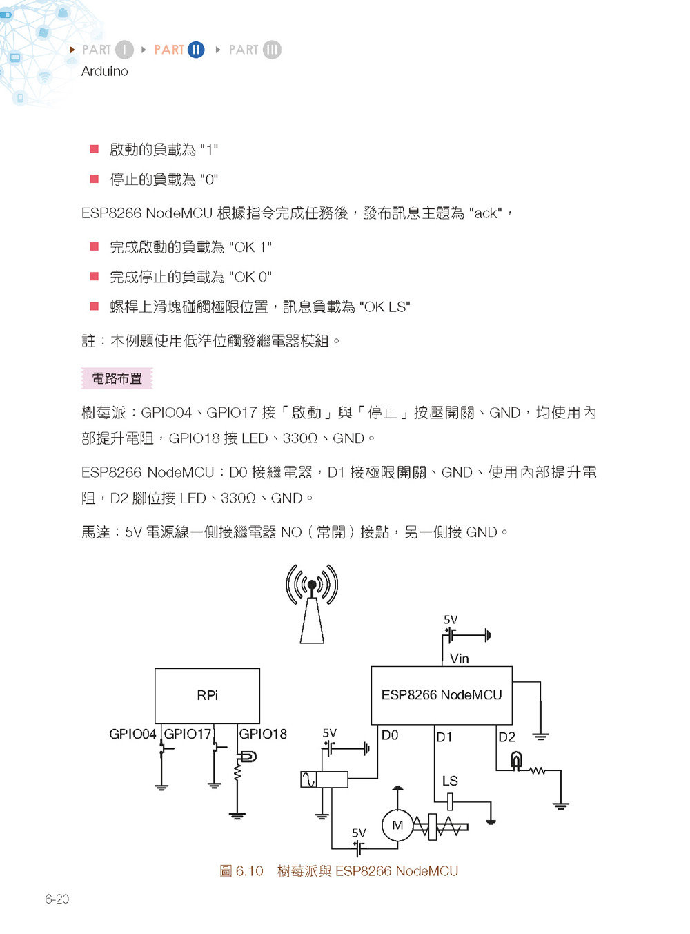 物聯網實戰:使用樹莓派 /Arduino/ESP8266 NodeMCU/Python/Node-RED 打造安全監控系統-preview-9