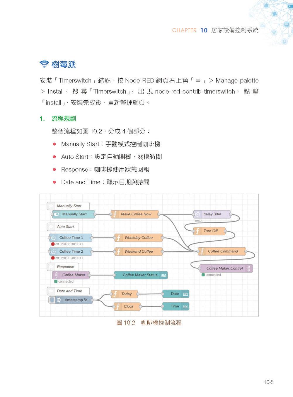 物聯網實戰:使用樹莓派 /Arduino/ESP8266 NodeMCU/Python/Node-RED 打造安全監控系統-preview-11