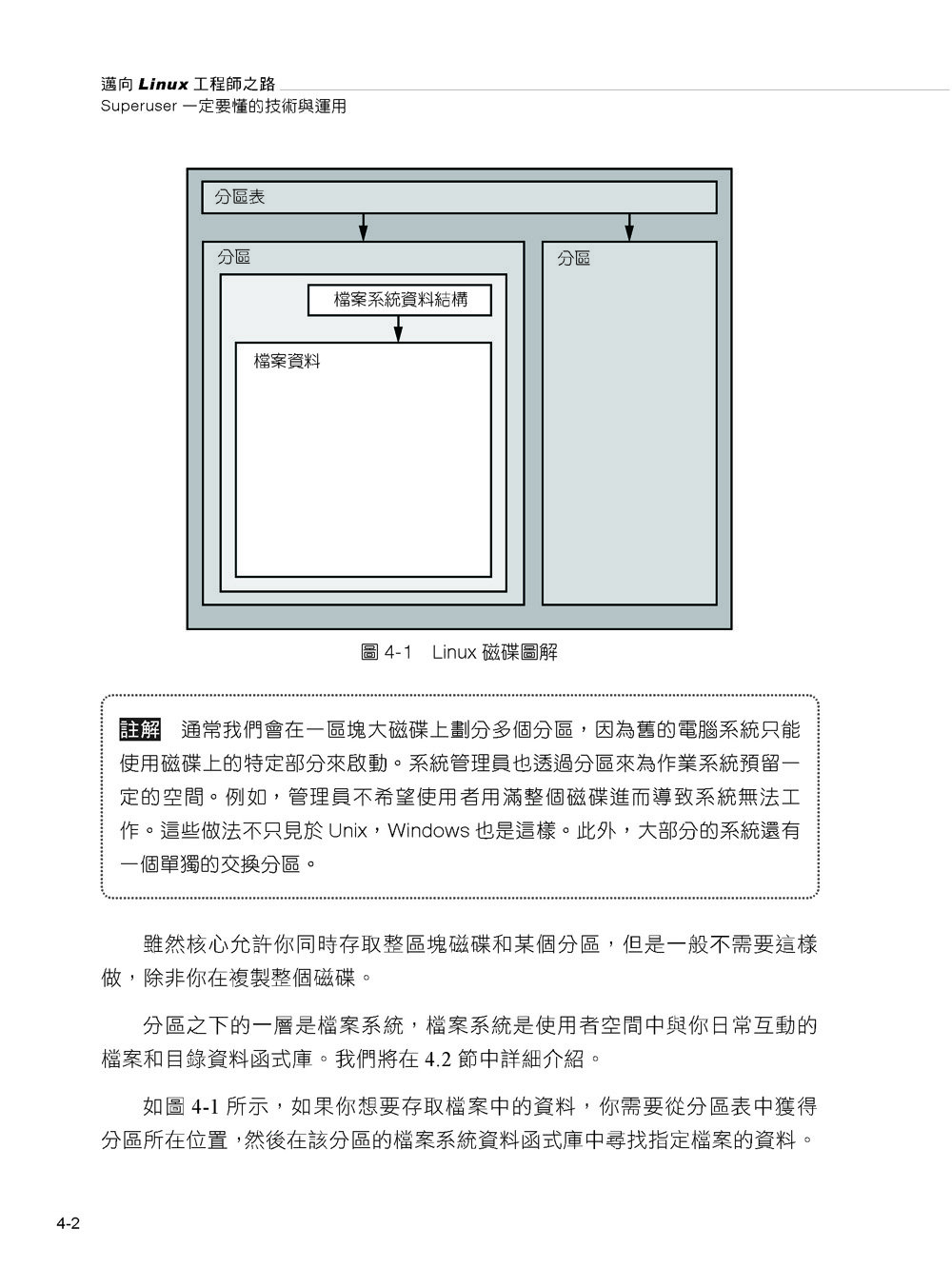 邁向 Linux 工程師之路:Superuser 一定要懂的技術與運用, 2/e (How Linux Works: What Every Superuser Should Know, 2/e)-preview-12