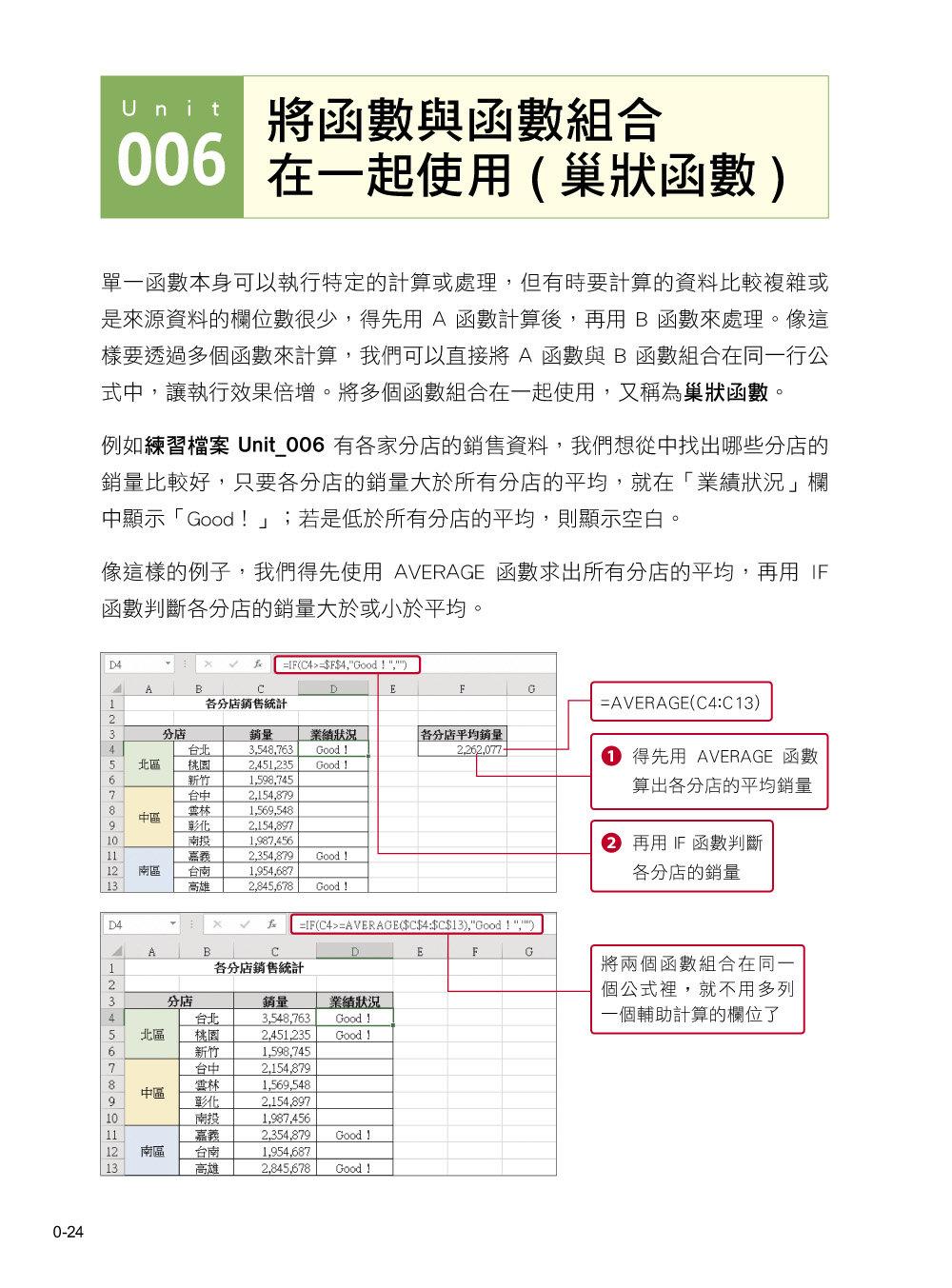 邁向加薪之路!從職場範例學 Excel 函數✕函數組合應用-preview-1