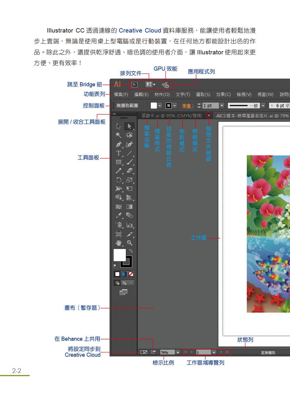跟我學 Illustrator CC 一定要會的美工繪圖技巧, 2/e (CC/CS6適用)-preview-2