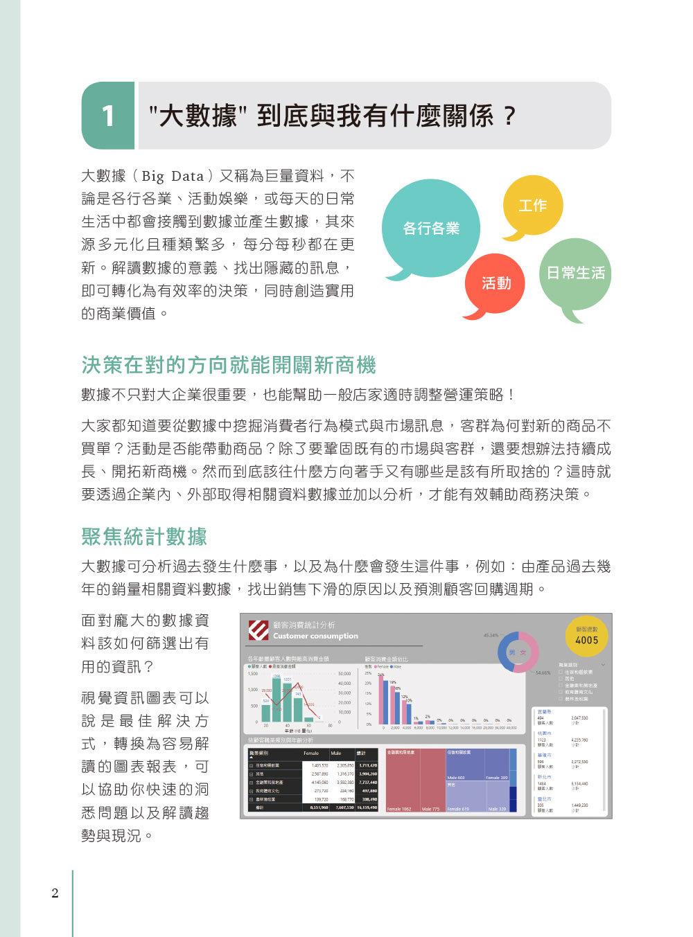 翻倍效率工作術 - 不會就太可惜的 Excel+Power BI 大數據視覺圖表設計與分析, 2/e-preview-1