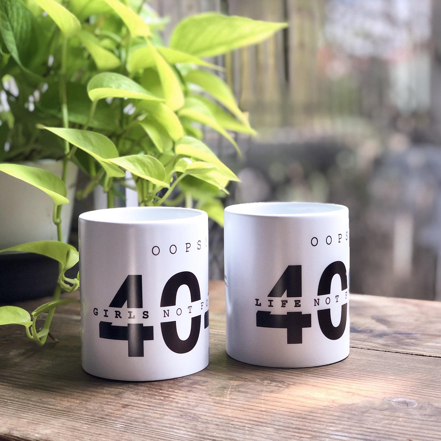 404 Life Not Found 馬克杯 (新款改版)-preview-4