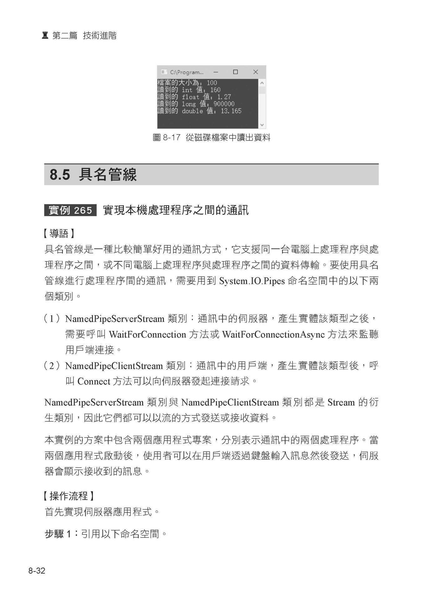 380個精選實例:一步步昇華成 .NET Core 大內高手-preview-6