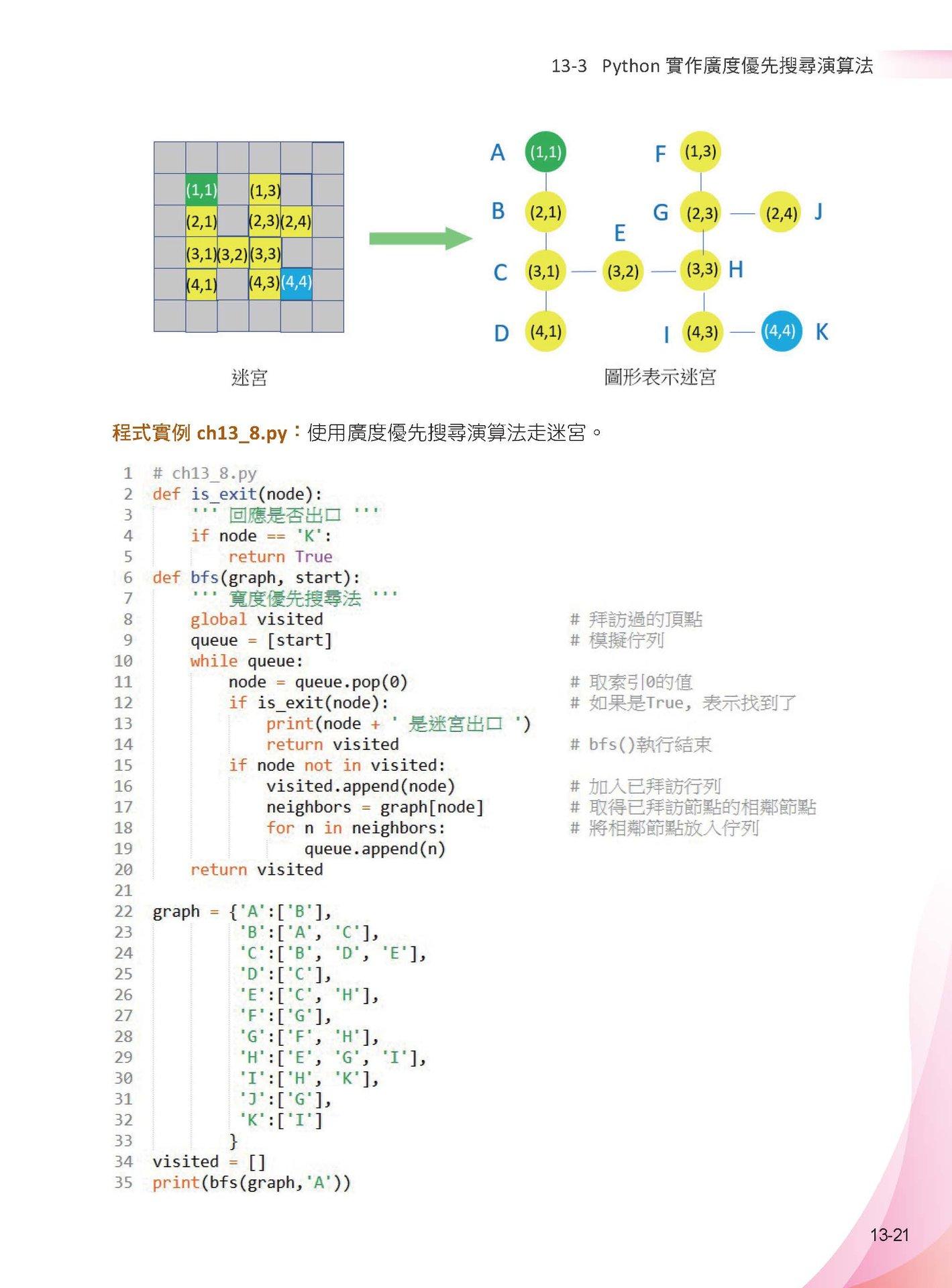 演算法:最強彩色圖鑑 + Python程式實作 -- 王者歸來 (全彩印刷)-preview-14