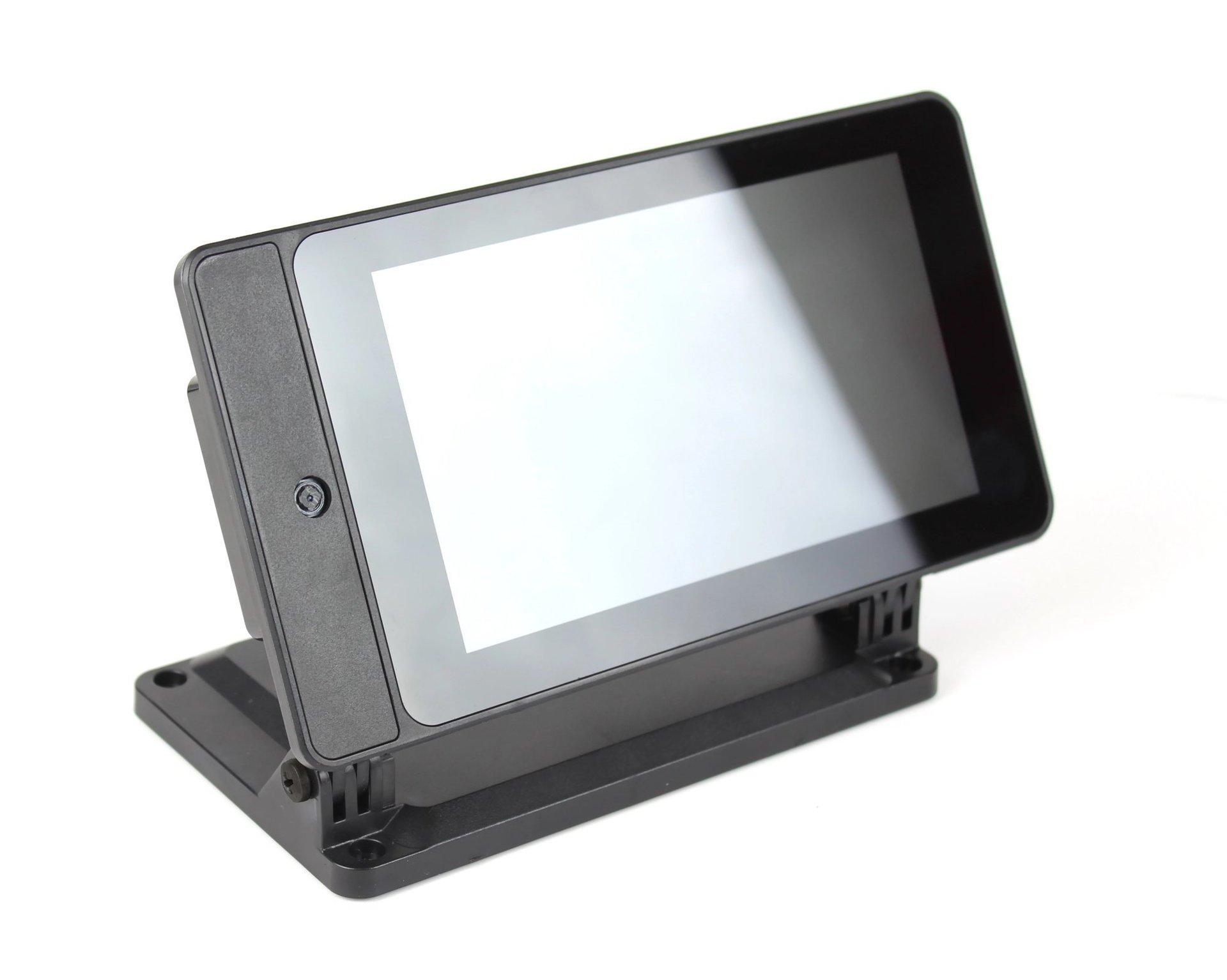 SmartiPi Touch 2 Raspberry Pi 官方7吋觸控螢幕專用外殼站立架(二代,Pi 4適用)-preview-2