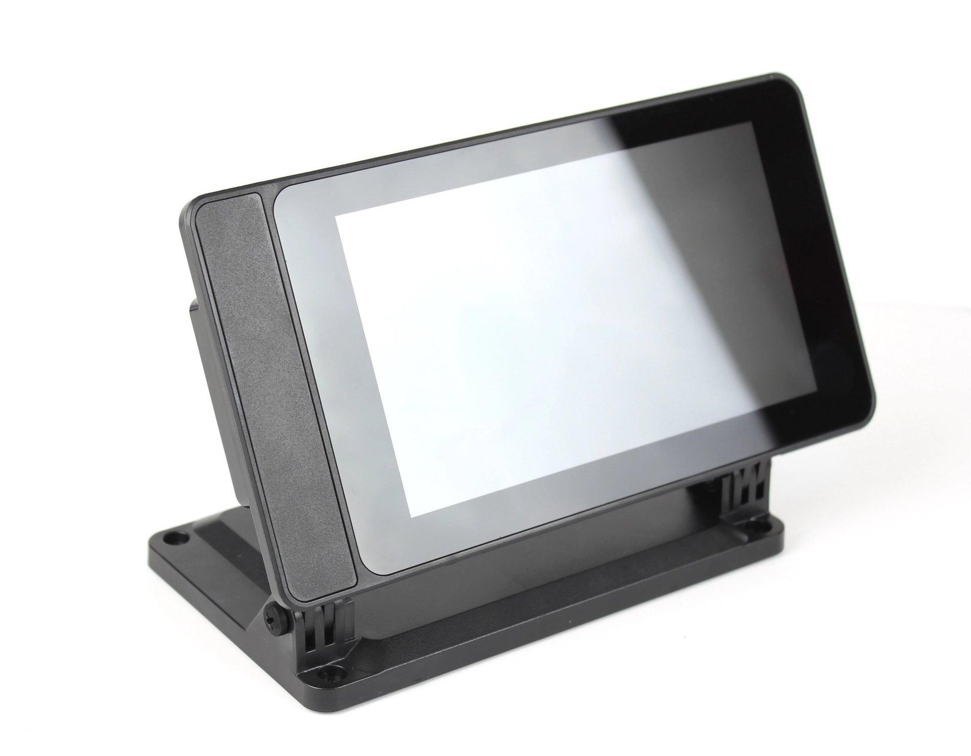 SmartiPi Touch 2 Raspberry Pi 官方7吋觸控螢幕專用外殼站立架(二代,Pi 4適用)-preview-3