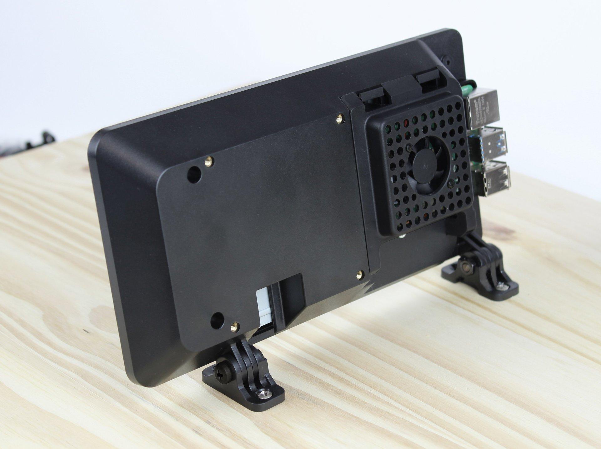SmartiPi Touch 2 Raspberry Pi 官方7吋觸控螢幕專用外殼站立架(二代,Pi 4適用)-preview-5